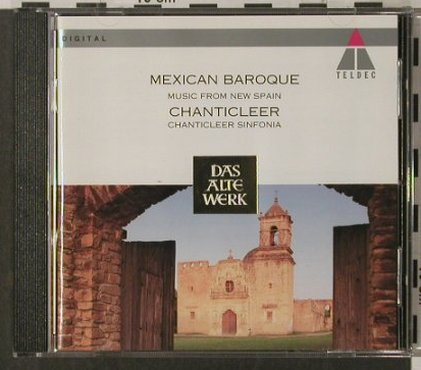 V.A.Mexican Baroque: Music From New Spain, deJerusalem, Teldec(), D, 1994 - CD - 92039 - 7,50 Euro