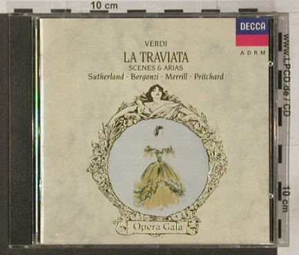 Verdi,Guiseppe: La Traviata-Scenes and Arias (1963), Decca(), D, 1989 - CD - 92117 - 7,50 Euro