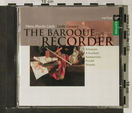 V.A.The Baroque Recorder: Hans Martin Linde, Linde Consort'87, Virgin(), NL, 1995 - CD - 92859 - 5,00 Euro