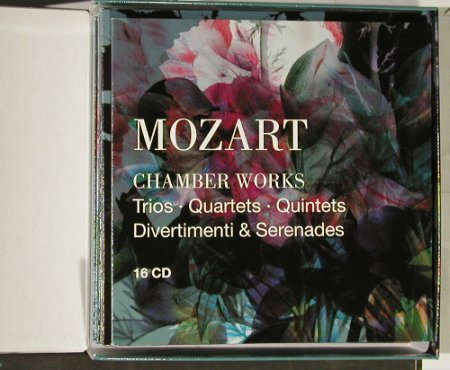 Mozart,Wolfgang Amadeus: 250th Anniv.Edition,Chamber Works, Warner(), EU,BoxSet, 2005 - 16CD - 93066 - 30,00 Euro