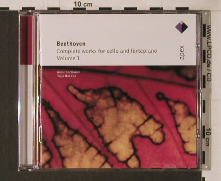 Beethoven,Ludwig van: Complete Works For Cello & Fortepia, Warner Classics(), EU, 2003 - CD - 94659 - 5,00 Euro