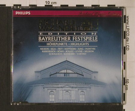 Wagner,Richard: Bayreuther Festspiele-Höhepunkte, Philips(434 979-2), D +Book, 1992 - CD - 95316 - 5,00 Euro