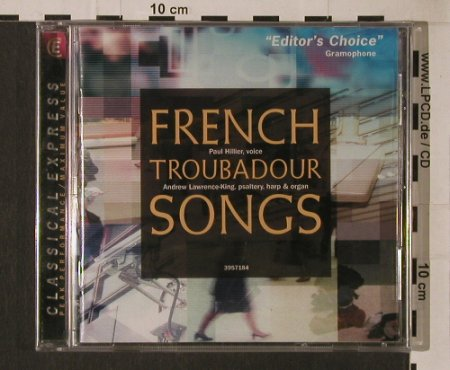 V.A.French Troubadour Songs: FS-New, Harmonia Mundi(HCX 3957184), D, 2001 - CD - 95322 - 5,00 Euro