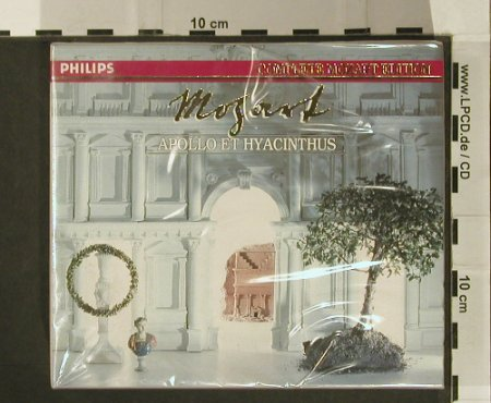 Mozart,Wolfgang Amadeus: Apollo Et Hyacinthus, FS-New, Philips(422526-2), D, 1982 - 2CD - 97250 - 19,00 Euro