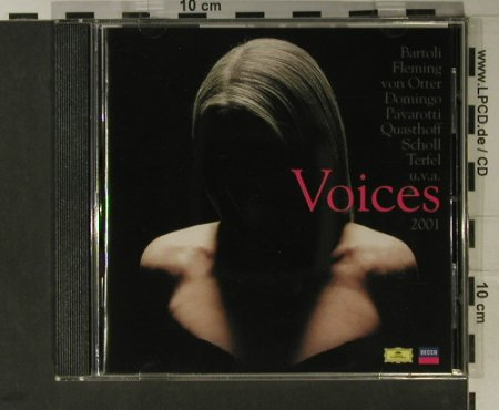 V.A.Voices 2001: Bartoli,Fleming,von Otter..., Deutsche Grammophon(461 940-2), EU, 2001 - CD - 98250 - 7,50 Euro