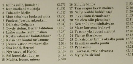 V.A.Most Beautiful Finnish Spiritua: Candomino-Kuoro, Finlandia(), D, 1994 - CD - 98469 - 15,00 Euro