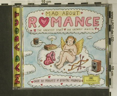 V.A.Mad About Romance: The Greates Stars..Greatest Music, D.Gr.(439 152-2), D, 1996 - CD - 99035 - 4,00 Euro