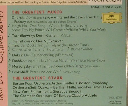 V.A.Mad About Kid's Classics: The Greates Stars..Greatest Music, D.Gr.(445 775-2), D, 1996 - CD - 99038 - 4,00 Euro