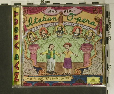 V.A.Mad About Italian Opera: The Greates Stars..Greatest Music, D.Gr.(445 774-2), D, 1996 - CD - 99040 - 4,00 Euro