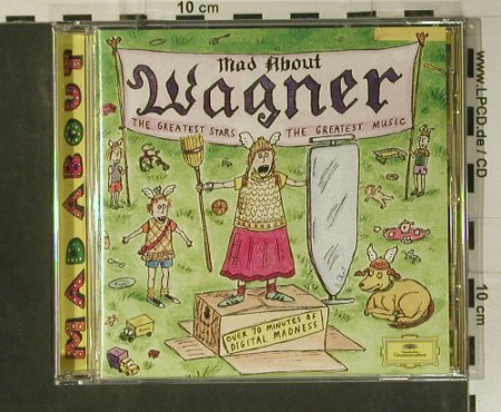 V.A.Mad About Wagner: The Greates Stars..Greatest Music, D.Gr.(445 769-2), D, 1996 - CD - 99046 - 4,00 Euro
