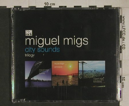 Migs,Miguel: City Sounds,trilogy, 8Tr., FS-New, NRK(NRK095CD), UK, 2004 - CD5inch - 80482 - 7,50 Euro