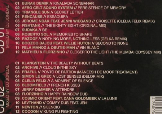 V.A.Obsession Lounge: 5, compiled by DJ Jondal, Digi, Clubstar(CLS0002392), EU,FS-New, 2009 - 2CD - 80754 - 10,00 Euro