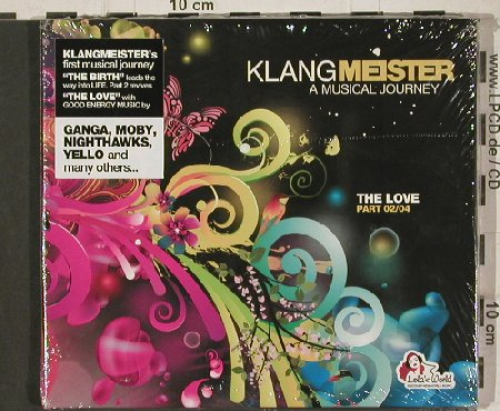 V.A.Klangmeister: The Love Part 02/04, Digi, FS-New, Lola's World(CLS0002502), , 2011 - CD - 80851 - 7,50 Euro