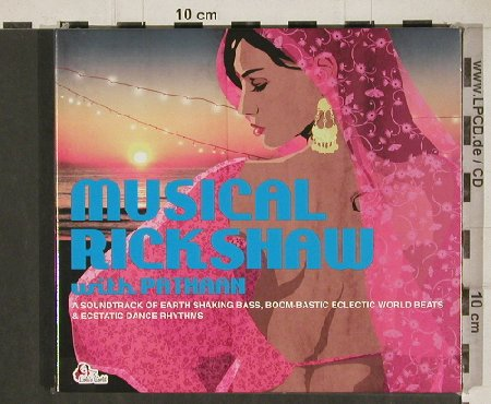 V.A.Musical Rickshaw: with Pathaan, Digi, FS-New, Lola's World(CLS0002342), , 2011 - 2CD - 80958 - 10,00 Euro