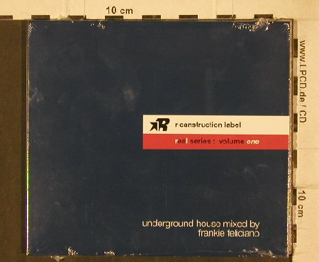 V.A.Real Series Volume one: Undergr.House..by Frankie Feliciano, bbe(BBEcd055), F,FS-New, 2005 - CD - 81228 - 7,50 Euro