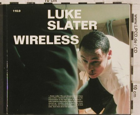 Slater,Luke: Wireless,Digi, Mute(), EU, 1999 - CD - 82613 - 7,50 Euro