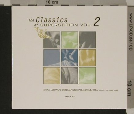 V.A.Classics of Superstition: Vol.2, Digi,Best of 1994&95,2&3, Superstition + Holo(2827), ,  - 2CD - 82630 - 10,00 Euro