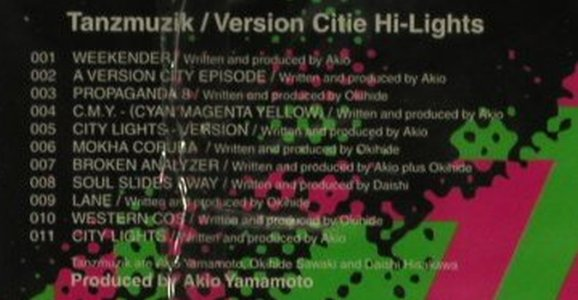 Tanzmusik: Version Cities Hi-Light, FS-New, Sublime(), UK, 1998 - CD - 90473 - 5,00 Euro