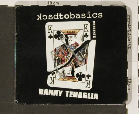 Tenaglia,Danny: Backto Basic, metal-box, FS-New, React(), UK, 02 - 2CD - 90983 - 12,50 Euro