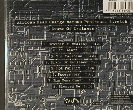 African Head Charge vs Prof.Stretch: Drums of Defiance, FS-New, On U Sound(), D, 98 - CD - 91272 - 10,00 Euro
