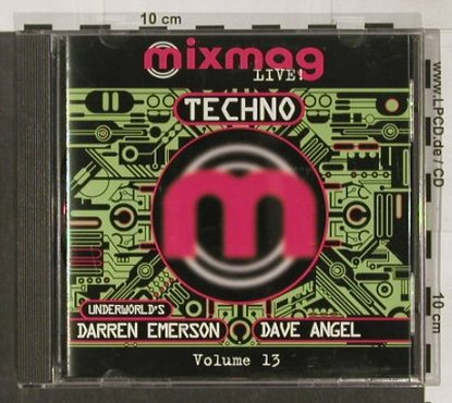 V.A.Mixmag Live!Techno: Darren Emerson & Dave Angel, MixMag(MMLCD 13), UK, 1996 - CD - 91516 - 11,50 Euro