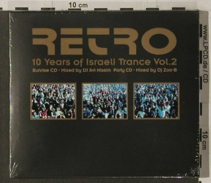 V.A.Retro: 10 Years of Israeli TranceVol.2, Phonokol(), FS-New, 2002 - CD - 91984 - 9,00 Euro