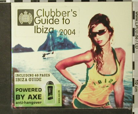 V.A.Clubbers Guide to Ibiza 2004: Incl. 40 Page Ibiza Guide,FS-New, MinistryOS(), D, 2004 - 2CD - 93453 - 10,00 Euro