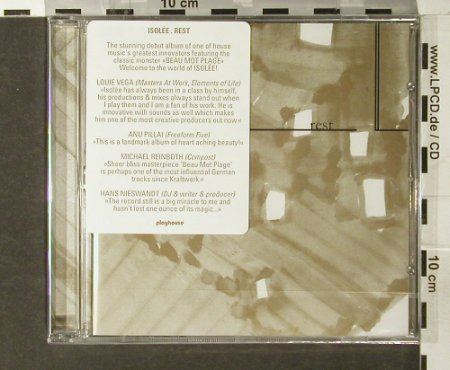 Isolée: Rest, FS-New, Playhouse(cd 001), , 2005 - CD - 93763 - 14,00 Euro
