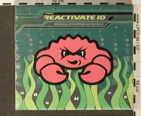 V.A.Reactivate: 10 - Snappy Cracklepop Techno, React(), UK,FS-New, 2006 - CD - 93903 - 10,00 Euro