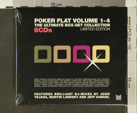 V.A.Poker Flat Vol. 1-4: The Ultimate Box Set, FS-New, Poker Flat Recordings(PFRcd15), , 2005 - 6CD - 94278 - 24,00 Euro