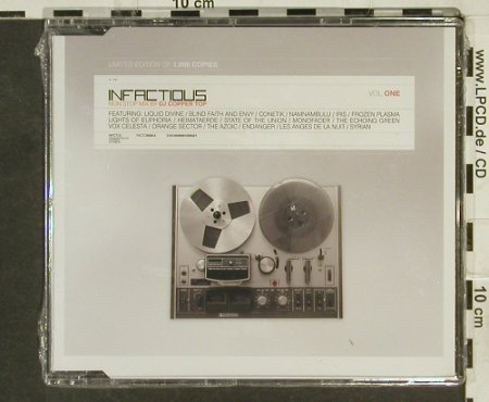 V.A.Infactious: Vol.One, Lim.Ed., FS-New, Infacted Recordings(), , 2005 - CD - 94489 - 10,00 Euro
