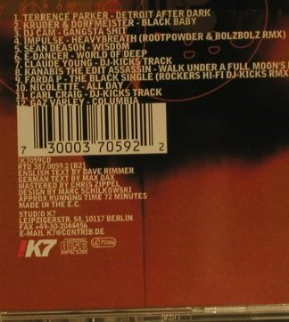 V.A.Offering: The Past & Present Of !K7, !K7(), EEC, 97 - CD - 96997 - 5,00 Euro