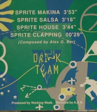 Sprite Drink Team: Sprite Makina+3,Axel G. Ber, Referencia(DL-M-13066-96), ,  - CD - 97453 - 3,00 Euro
