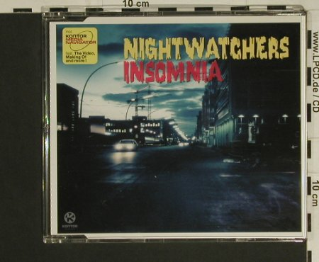 Nightwatches: Insomnia*2+2, Kontor(), D, 2002 - CD5inch - 97533 - 2,50 Euro