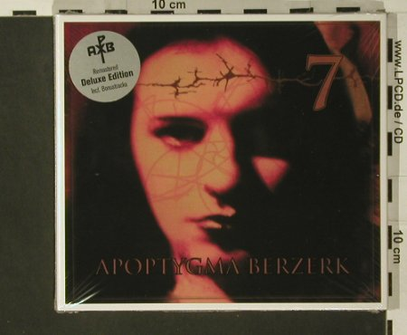 Apoptygma Berzerk: 7, Digi,remastered, Deluxe Edition, Hard Drive(2006REC 006), D,FS-New, 2007 - CD - 97619 - 11,50 Euro