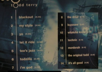 Terry,Todd: Resolutions, Virgin(7243 8 47504 2), EU, 99 - CD - 98279 - 7,50 Euro