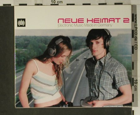 V.A.Neue Heimat 2: Electronic Music Made in Germany, Ministry of Sound(108 432-2), D, 2002 - 2CD - 98547 - 10,00 Euro