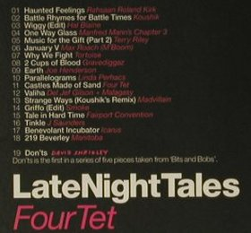 V.A.Late Night Tales: FourTet, Azuli(Alncd12), , 2004 - CD - 98917 - 12,50 Euro