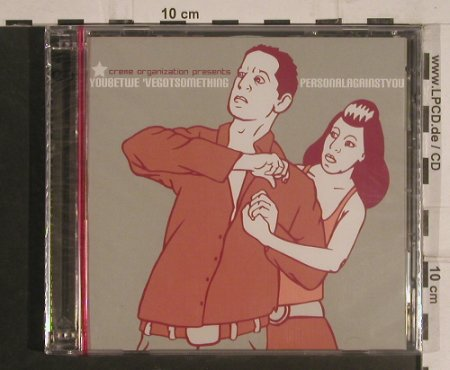 V.A.You Bet We've Got Something: Personal Against you!, FS-New, Creme Org.(creme cd-02), , 2003 - 2CD - 99572 - 10,00 Euro