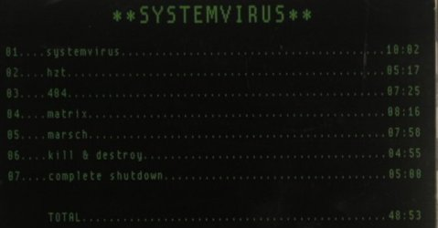 Systemvirus: v.1.5 - FS-New, Soulfood(), , 2008 - CD - 99660 - 10,00 Euro