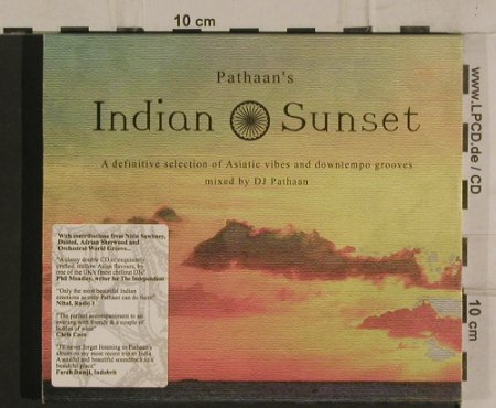 V.A.Pathaan's Indian Sunset: ..Asiatic vibe&downtempo grooves, Altura Music(ALTURAcd1), , 2003 - 2CD - 99808 - 10,00 Euro