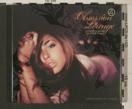V.A.Obsession Lounge: 4, compiled by DJ Jondal, Digi, Clubstar(), EU,FS-New, 2009 - 2CD - 99984 - 10,00 Euro