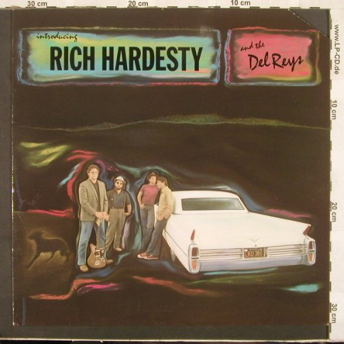 Hardesty,Rich & Del Reys: Introducing, Still Sane(0647 283), D, Co, 88 - LP - C2692 - 6,00 Euro