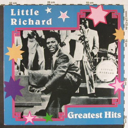 Little Richard: Greatest Hits, ART(8615), EEC, 1986 - LP - E470 - 4,00 Euro