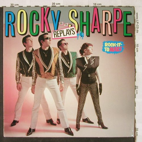 Rocky Sharpe and the Sharpe: Rock It To Mars, Chiswick(0067.072), D, 1980 - LP - H3596 - 6,00 Euro