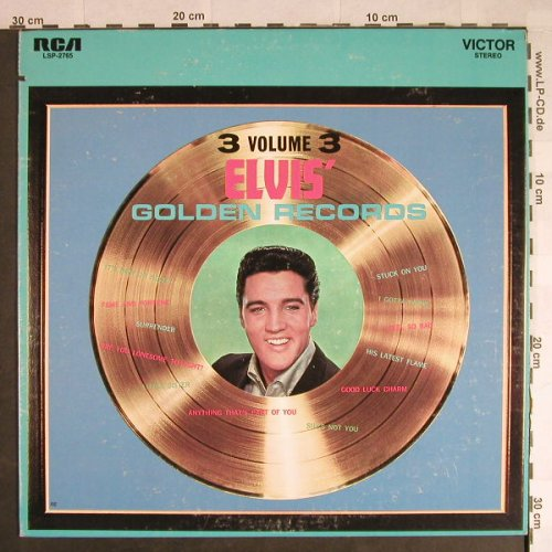 Presley,Elvis: Elvis' Golden Records-Volume 3, RCA Victor(LSP-2765), US, co,  - LP - H440 - 7,50 Euro