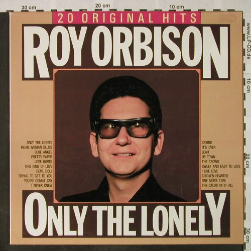 Orbison,Roy: Only The Lonely, Flash Back(34039), D, Ri,  - LP - H4710 - 5,50 Euro
