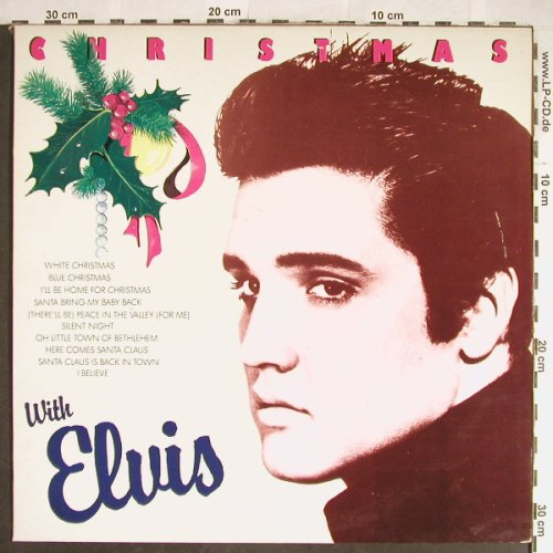 Presley,Elvis: Christmas with, Noël(3200), P, 1987 - LP - H5670 - 6,00 Euro