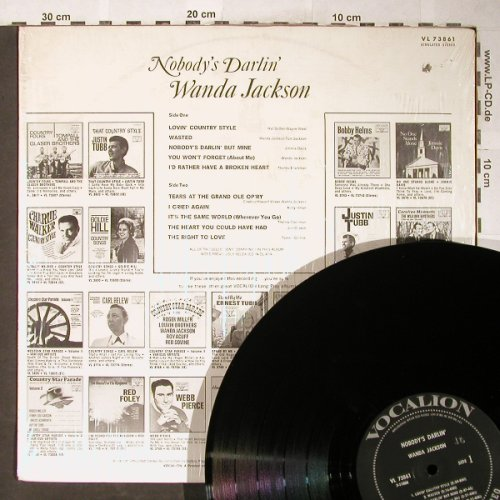 Jackson,Wanda: Nobody's Darlin' (Country), Vocalion(VL 73861), US, Co,  - LP - H5990 - 9,00 Euro