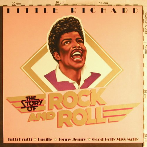 Little Richard: The Story Of Rock and Roll, Ariola(200 733-241), D, 1979 - LP - H7121 - 5,00 Euro
